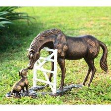 Barnyard Pals Garden Statue