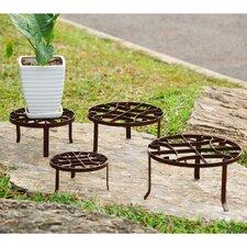 4 Piece Novelty Plant Stand Set (Set of 4)
