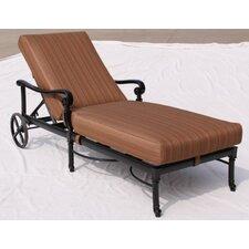 Edina Chaise Lounge with Cushion