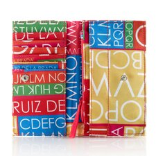 Agatha Ruiz De La Prada Word Search Wallet