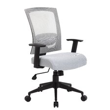 Adjustable High-Back Mesh Office Chair with Arms