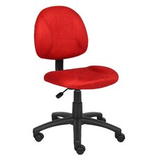 Mid-Back Adjustable Office Chair
