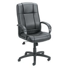 Adjustable High-Back Caressoft Executive Chair