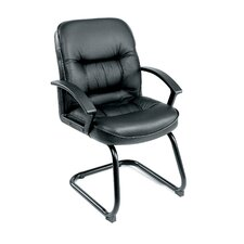 Ergonomic Leather Guest Chair