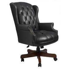 Traditional Adjustable High-Back Office Chair