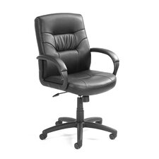 Mid-Back Leather Conference Chair