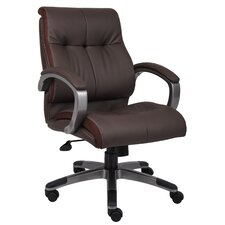 Mid-Back Double Plush Conference Chair