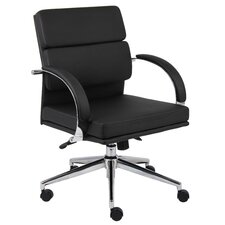 Caressoft Plus Adjustable Mid-Back Office Chair