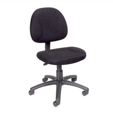Adjustable Low-Back Office Chair