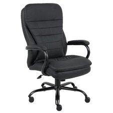 High-Back Heavy Duty Double Plush Caressoft Executive Chair