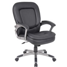 Conference Chair with Padded Armrests