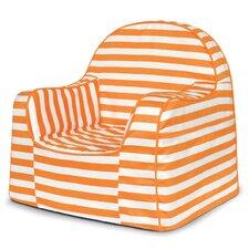 Little Reader Orange Stripes Kids Chair