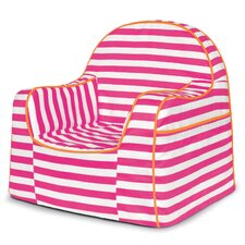 Little Reader Pink Stripes Kids Chair