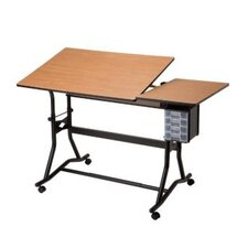 Craftmaster III Split Melamine Drafting Table