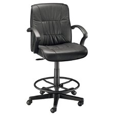 Backrest Leather Office Chair