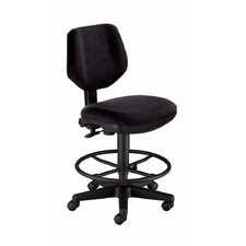 Backrest Comfort Classic Deluxe Drafting Chair
