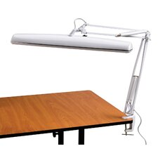 Tri-Fluorescent Task Table Lamp with Novelty Shade