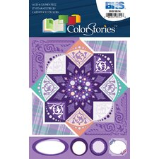 ColorStories Cardstock Stickers (Set of 108)