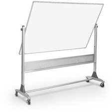 Free Standing Reversible Whiteboard, 4' x 6'