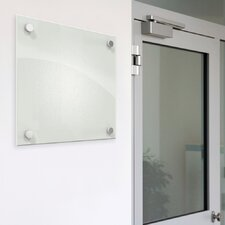 Enlighten Wall Mounted Glass Board, 1' x 1'