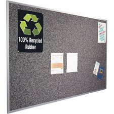 Rubber-Tak Wall Mounted Bulletin Board