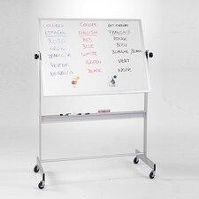 Deluxe Porcelain Magnetic Reversible Whiteboard