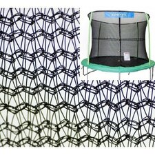 15' Trampoline Net Using 4 Poles