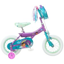 Girl's Dora Bike with Training Wheels