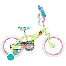 Girl's Dora Bike with Training Wheels