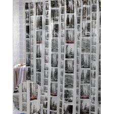 Vinyl New York Shower Curtain
