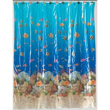 Vinyl Sealife Shower Curtain