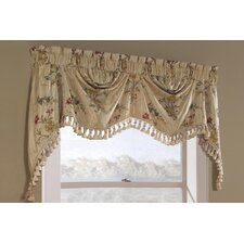"Jewel Austrian 108"" Curtain Valance"