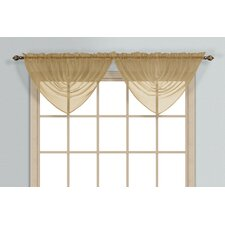 "Monte Carlo Waterfall 60"" Curtain Valance"
