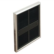 Commercial 6,143 BTU Wall Insert Electric Fan Heater with Thermostat