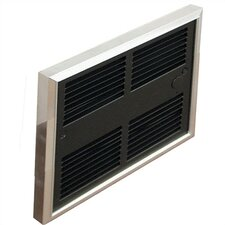 Low Profile 6,826 BTU Wall Insert Electric Fan Heater with Wall Box