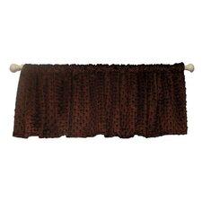 "Chocolate Mint 54"" Curtain Valance"
