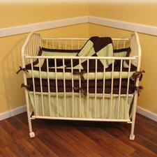 Chocolate Mint Porta 4 Piece Crib Bedding Set