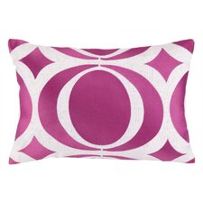 Jennifer Paganelli Sista Embroidered Lumbar Pillow