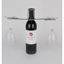 Wine Bottle 2 Stem Holder