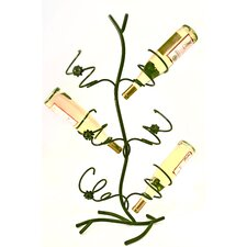 Wild Rose 6 Bottle Tabletop Wine Rack