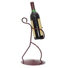 Iron Borracho 1 Bottle Tabletop Wine Rack