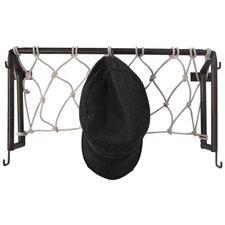 Hall of Fame Soccer Goal Post Coat Rack