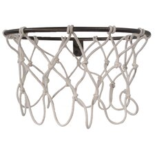 Hall of Fame Basketball Hoop Coat Rack