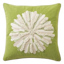 Asters Cotton Throw Pillow