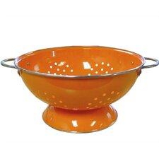 Calypso Basics 7 Quart Colander in Orange