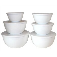 Calypso Basics 12 Piece Bowl Set in White