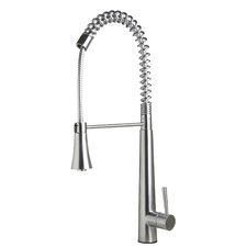 LEON Single Handle Single Hole Kitchen Faucet with Spray Shower Mode