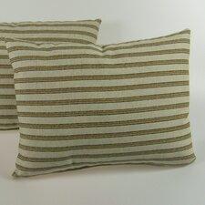 Gardening Stripe Throw Pillow (Set of 2)