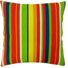 Stripe Indoor/Outdoor Throw Pillow