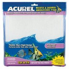 Poly Fiber Media Aquarium Filter Pad (Set of 3)